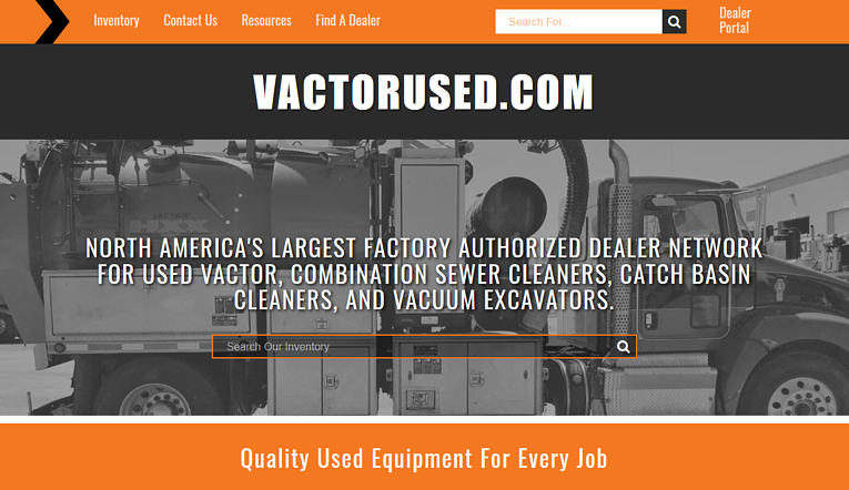 VactorUsed.com Launch